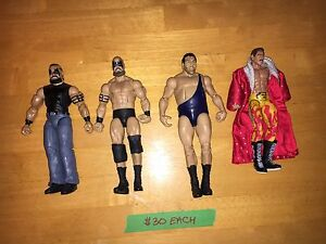 WWE/WWF Action Figures - $30 and Up