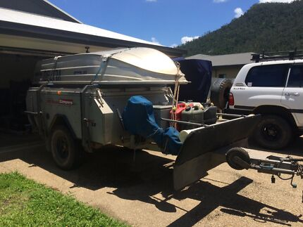 Australian off-road odyssey camper trailer Cannonvale Whitsundays Area Preview