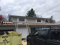 Roofs and repairs  decks fences anything you need free quotes