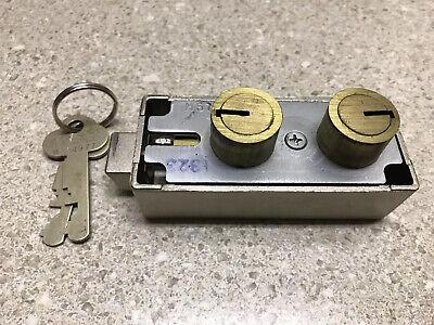 Mosler 5700 Safe Deposit Lock - 2 Renter Keys- Ships Free