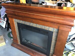 Electric Fireplace OBO