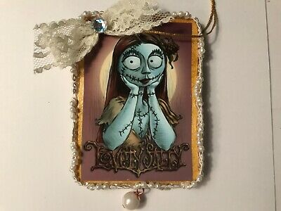 halloween gothic sally wood ornament, hand crafted, item # W17 - Halloween Hand Crafts