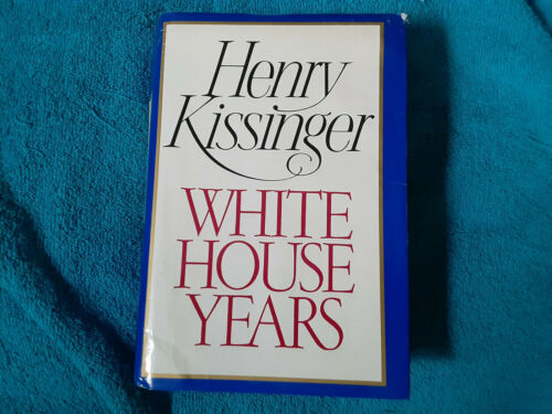 Henry Kissinger autographed hard cover book The White House Years SGC Certified