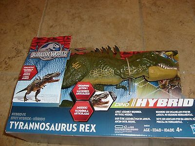 Jurassic World Park Tyrannosaurus Rex Dino Hybrid Fx Chomping Action New Figure