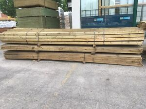 Liquidation - Bois traité vert - Green Treated Wood