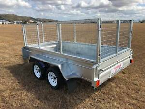 10x6 Dual Axle $50 p/w 400mm sides 2000kg Galvanized Garbutt Townsville City Preview