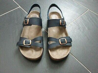 Romika by Josef Seibel  'Juno' sandals (Birkenstock type) - navy blue, Size 6/39