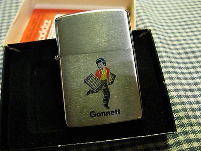 Vintage Zippo Gannett Newspaper Co Lighter 1978