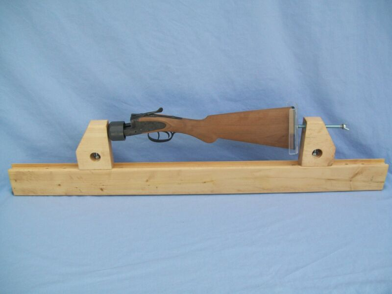 Checkering Cradle -  Made by MTB Woodworking - Top Quality - Made In USA