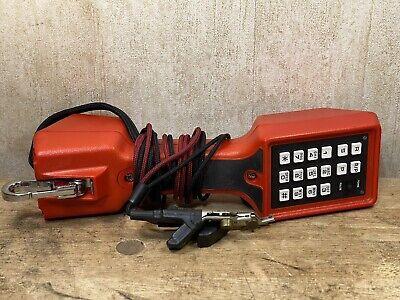 Harris Dracon M332-1 Linemans Speaker Phone Dial Test Butt Set Fully Tested