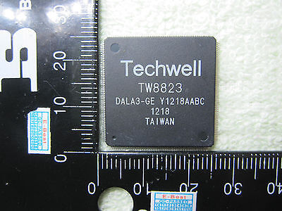 1 Piece New Techwell Tw8823 Dala3 Ge Qfp216 Ic Chip