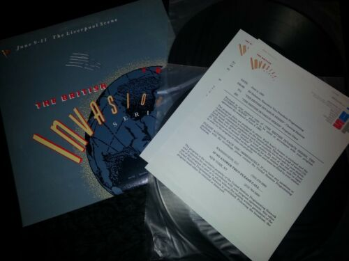 June 1989 The Liverpool Scene British Invasion Series Radio Show 2LP