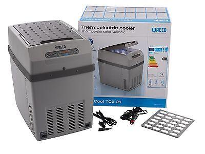 Waeco TCX21 Thermo-Kühlbox Kühlschrank A++ 12V 24V 230V 20L Heizfunktion