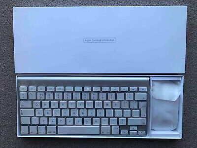 Apple A1314 (MC184LL/B) Qwerty Wireless Keyboard & Genuine Apple Magic Mouse 1