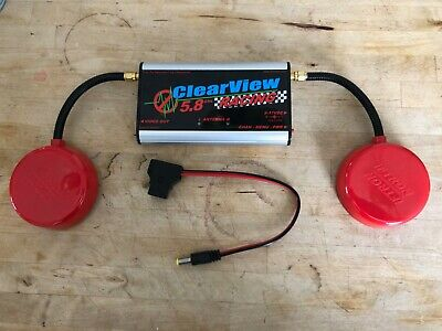 Iftron Clearview Racing FPV 5.8Ghz receiver for quads and drones **Excellent****