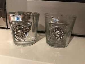 Candle holders pair Georges Hall Bankstown Area Preview