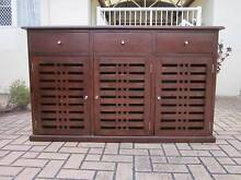 SOLID WOOD BUFFET, HIGH QUALITY, VGC Greenslopes Brisbane South West Preview