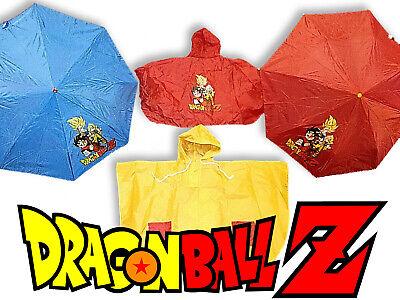 Ombrello Per Bambino Bambina Con mantelline Tascabili Dragon Ball IDEA REGALO