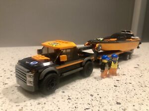 Lego City - 4x4 with Powerboat