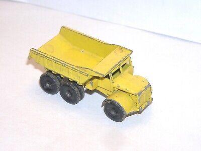 Vintage Matchbox Lesney #6 Euclid Dump Truck **RED LIGHT SPECIAL**