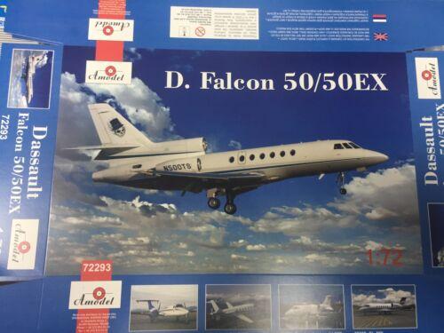 1/72 Dassault Falcon 50/50EX  - NEW Amodel!
