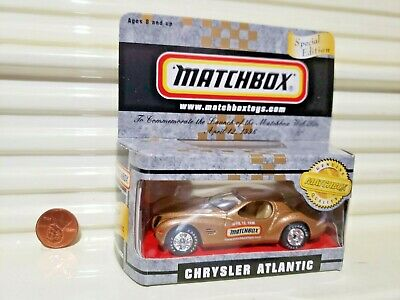 MATCHBOX 1996 CHRYSLER ATLANTIC WEB SITE CAR NEW BOXED*