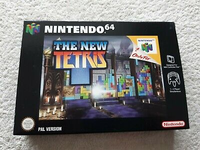 THE NEW TETRIS ~ Nintendo 64 N64 PAL Boxed & Complete Collectors