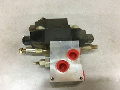 Used Parker Hydraulic Valve D1vw020dnyw And Bd03-abn-a