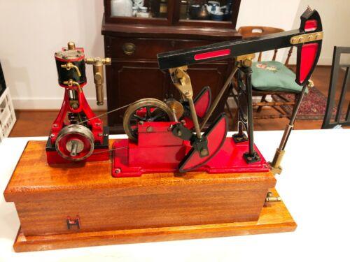 Live Steam Engine Stuart Turner Model Driving Oil Pump