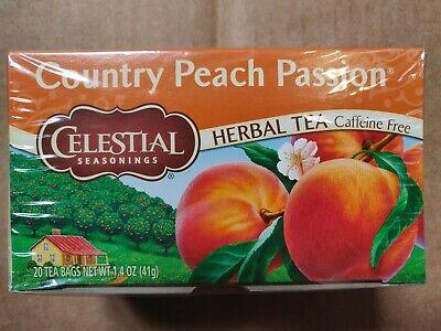 Celestial Seasonings Herbal Tea Caffeine Free Country Peach Passion - Caffeine Free Herbal Tea
