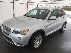 BMW X3 2014 impeccable + mags OEM hiver