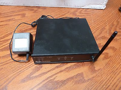 One (1) Crestron STRFGWX 418 MHz 2-Way RF Gateway w/ Power Supply