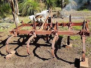 *SOLD*  Yeomans Plough, Grader blade, single ripper Stoneville Mundaring Area Preview