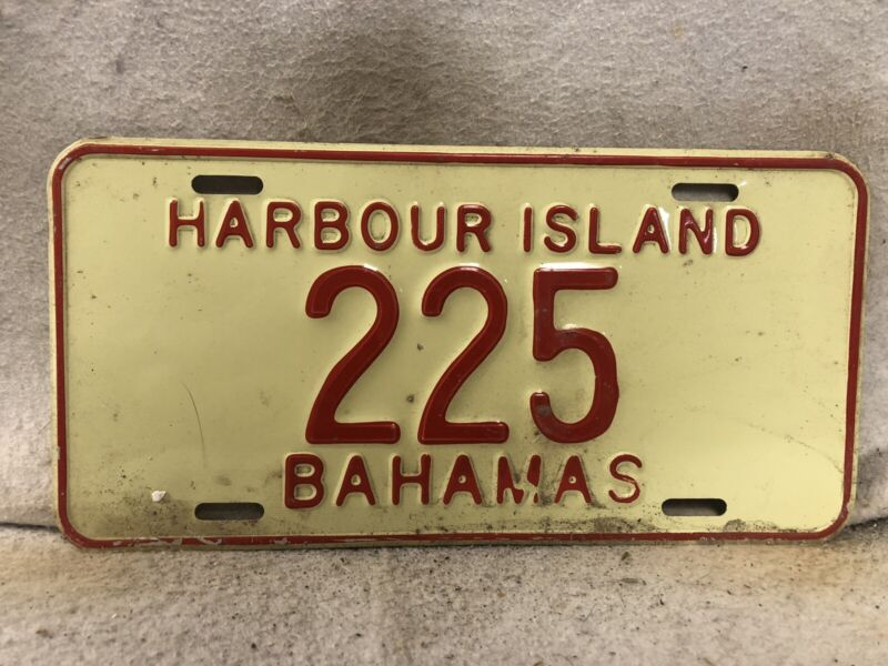 Harbour Island License Plate