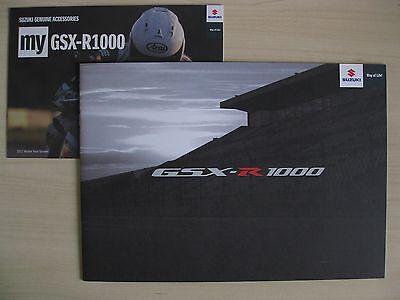 Suzuki GSX-R 1000 UK Sales Brochure (2012)