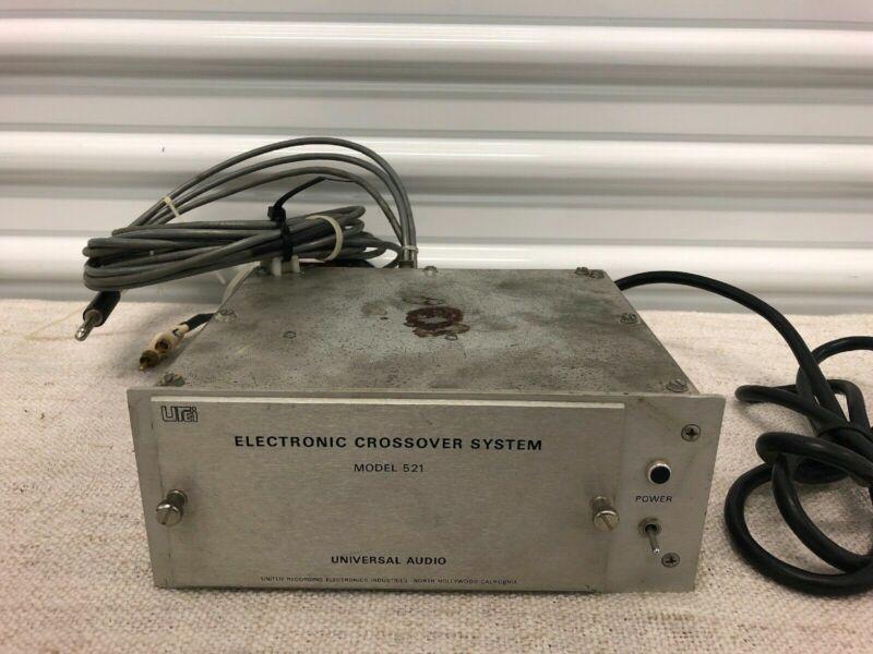 UREI Universal Audio 521 Electronic Speaker Crossover System