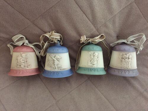 Hummel Christmas Bells - Complete Set of 4 Four - 1989 - 1992