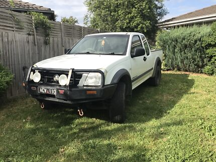 4x4 Holden rodeo 2004