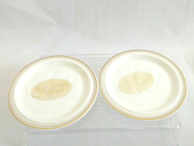 Royal Doulton Small Plates Impressions by Gerald Gulotta Terra Coaster 1982 NWT