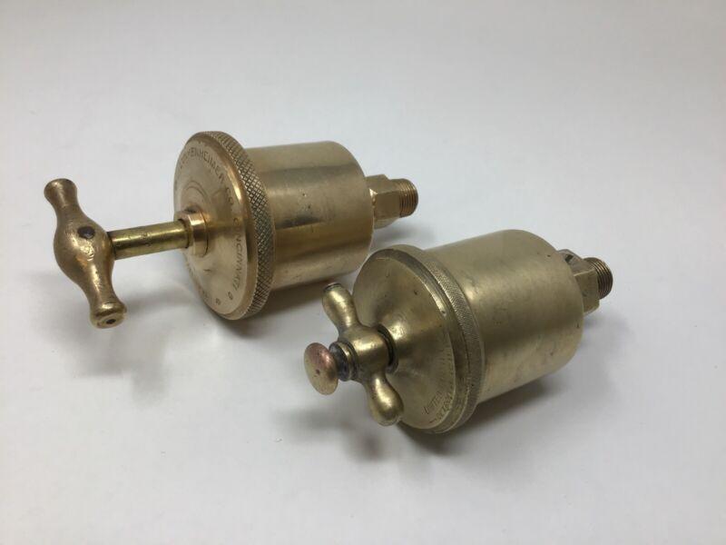 Lunkenheimer Marine No. 2 / United Brass Grease Cup Lubricator Hit & Miss Engine