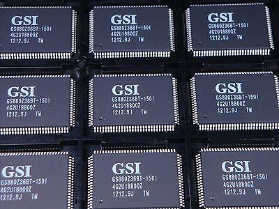Gs880z36bt 150I Gsi Technology 9Mb Pipelined   Flow Through Synchronous Nbt Sram