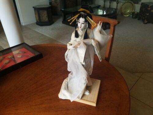Vintage Japanese Nishi Snow Queen Geisha Doll Japan 18in