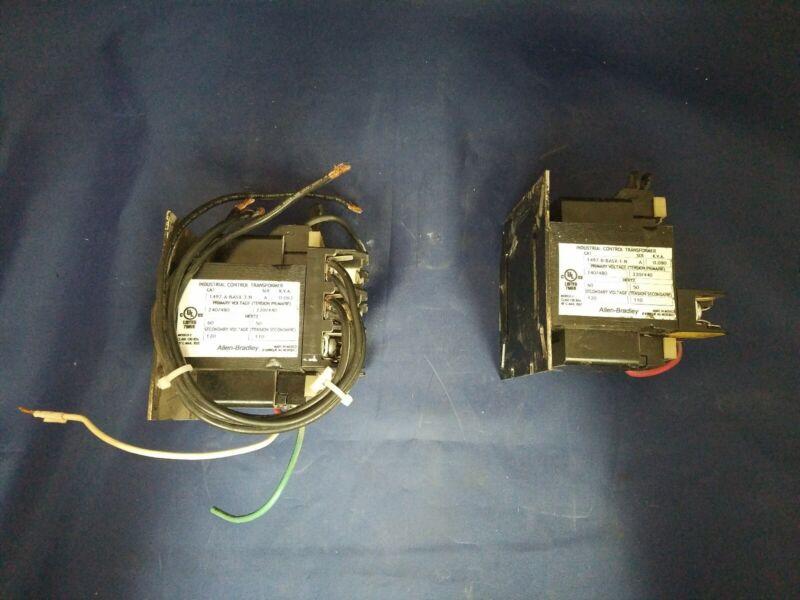 Allen-Bradley Transformers(1497-A-BASX-3-N & 1497-A-BASX-1-N)