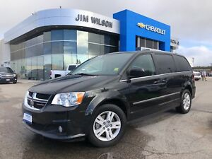 2017 Dodge Grand Caravan Crew POWER SEAT REAR A/C ALLOYS CRUISE