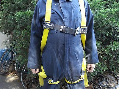 Miller Safety Harness - 926364 - Full Body Yellow Adjustable Harness - 751uyku