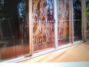 4 panel sliding door  2140h x 3650w  good cond... unassembled. Gosford Gosford Area Preview