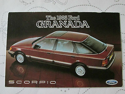 1985 FORD GRANADA SCORPIO POSTCARD REF NO SP 274