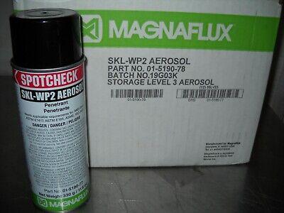 Magnaflux Spotcheck Skl-wp2 Aerosol Penetrant -16 Oz.case Of 12 Cans