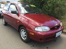 1998 Ford Festiva Hatchback Invermay Launceston Area Preview