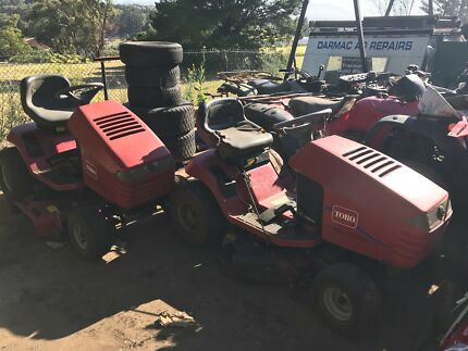 Toro mowers not John Deere Kubota or Husky Silvan Yarra Ranges Preview